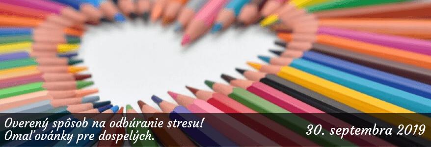 Odbúranie stresu omaľovánkami