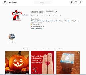 Náš účet na Instagrame